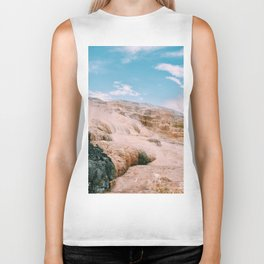 mammoth hot springs Biker Tank