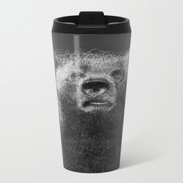 Sacred Bear Metal Travel Mug