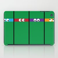 teenage mutant ninja turtles iPad Cases featuring Teenage Mutant Ninja Turtles by Jennifer Agu