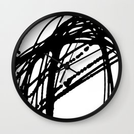 Ellipse 2 Wall Clock
