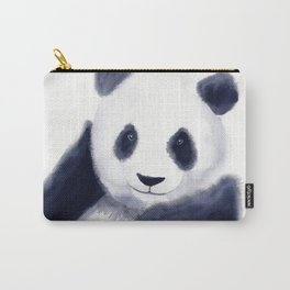 Cute Panda Watercolor Carry-All Pouch