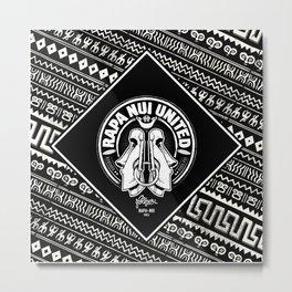 Rapa Nui United Metal Print