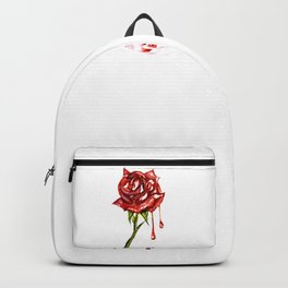 Painted Rose Backpack