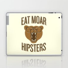 Eat Moar Hipsters Laptop & iPad Skin