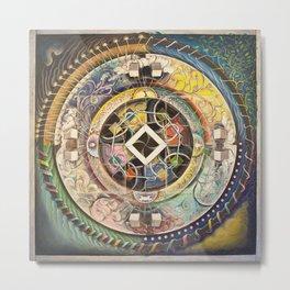 Bernoulli's Mandala (2010) Metal Print