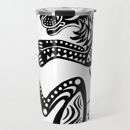 Afro Lion Travel Mug