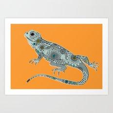 The Lizard Art Print