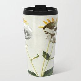 Skullflower Metal Travel Mug