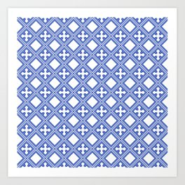 Chinese Tile Art Print
