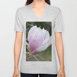 Soft Magnolia Days Unisex V-Neck