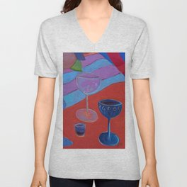 Afternoon Delight Unisex V-Neck