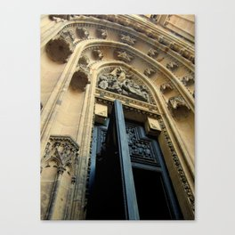 Cathedral Door Canvas Print