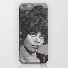 Elle c'est Angela iPhone Case