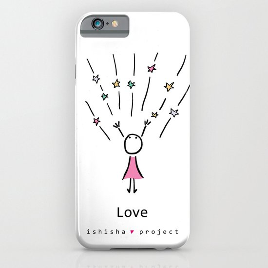 LOVE by ISHISHA PROJECT iPhone & iPod Case