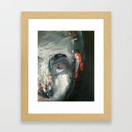 He Framed Art Print