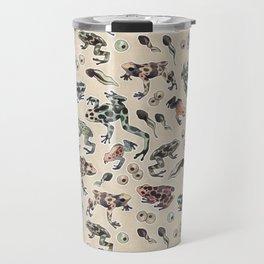 Frog pattern Travel Mug