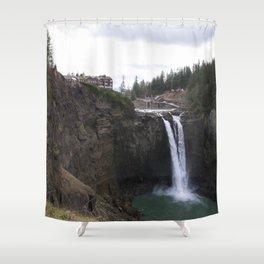 Snoqualmie Falls Shower Curtain
