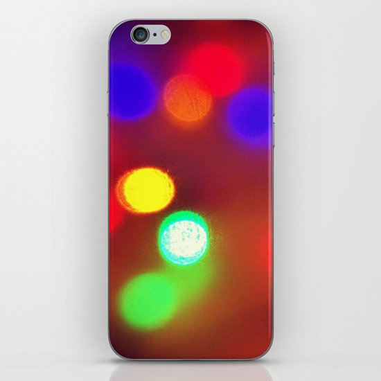 Colourful Lights iPhone & iPod Skin