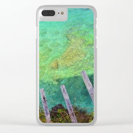 Uluwatu Reef, Bali Clear iPhone Case