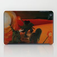 mythology iPad Cases featuring Inuit Mythology: Chapter 1, part 8 by Estúdio Marte