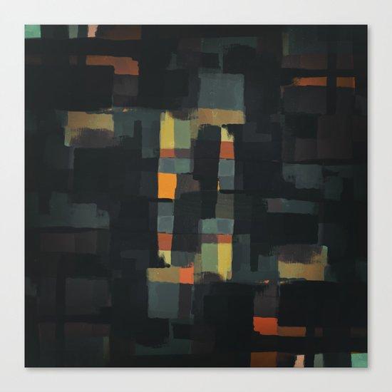 Abstract Painting No. 6 Canvas Print