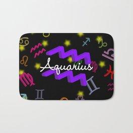 Aquarius Floating Zodiac Bath Mat