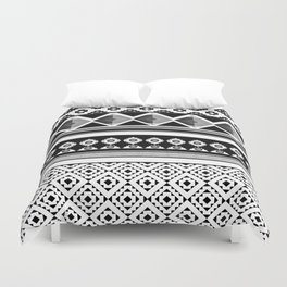 Modern Black 2 Duvet Cover