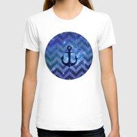 chevron T-shirts featuring CHEvRON  by Monika Strigel