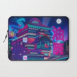 Neon Bath House Laptop Sleeve