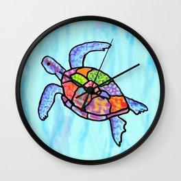 Symphony Swim Wall Clock