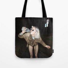 Spilled Milk Tote Bag