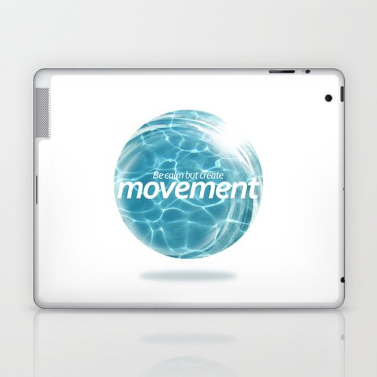 Create Movement Laptop & iPad Skin