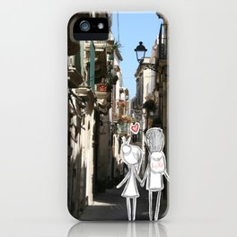 sicily with love iPhone Case