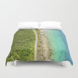 COZUMEL IS AWESOME BY JOSE LUIS POOL SIERRA Duvet Cover