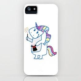 Unicorn, use your illussion iPhone Case
