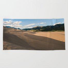 Great Sand Dunes, CO Beach Towel