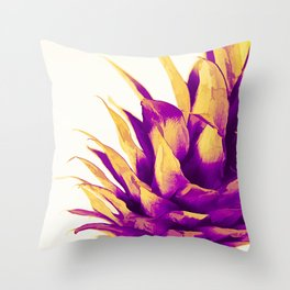 Pineapple Color Pop Throw Pillow