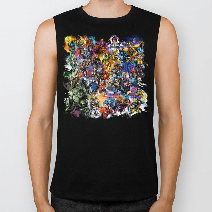 Marvel MashUP Biker Tank