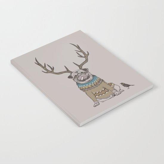 Deer Pug Notebook
