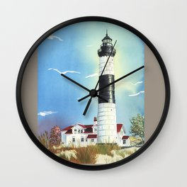 Big Sable Point Lighthouse Wall Clock