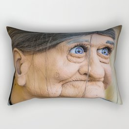Ole Blue Eyes Is Back Rectangular Pillow