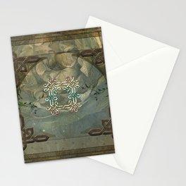 Wonderful decorative celtic knot Stationery Cards