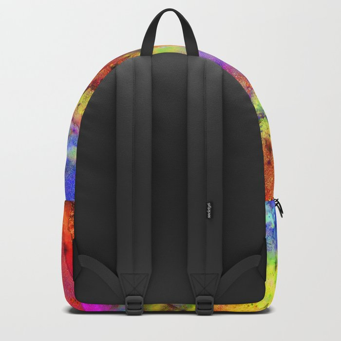 Colorful marble b Backpack