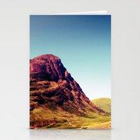 scotland Stationery Cards featuring Glencoe, Scotland. by zenitt