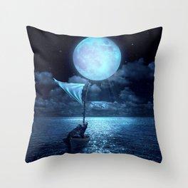 Set Adrift Throw Pillow