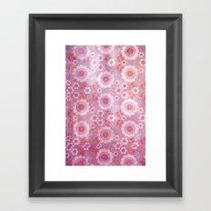 old bloom Framed Art Print