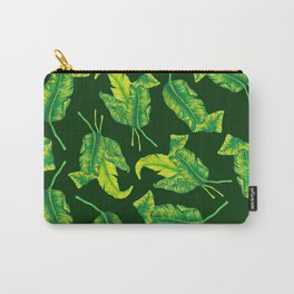 Tropicana Leaves Carry-All Pouch