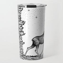 John Bauer Tuvstarr & The Moose Travel Mug