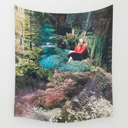 The Red Shirt (Gardentopia)  Wall Tapestry