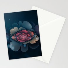 A Beautiful Fractal Flower Stationery Cards